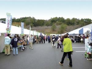 2012年3月第2回いなべの里 そばまつり -会場の様子