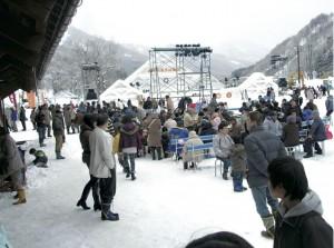 南砺利賀そば祭り(富山県南砺市)