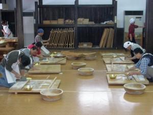今庄そば道場 (2009年1月24日)