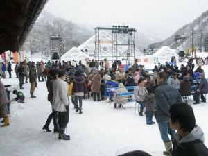 南砥波利賀そば祭り(2010年3月13日)