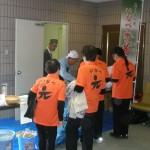 元気クラブメンバーとそば (2010年11月20日)
