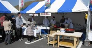 第1回いなべの里そば祭り (2011年3月13日)