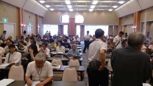 多数の受講者(第10回日本そば大学神戸須磨學舎)