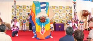 大安寿太鼓の演舞 (2014年11月9日-第5回いなべの里新そば祭り)