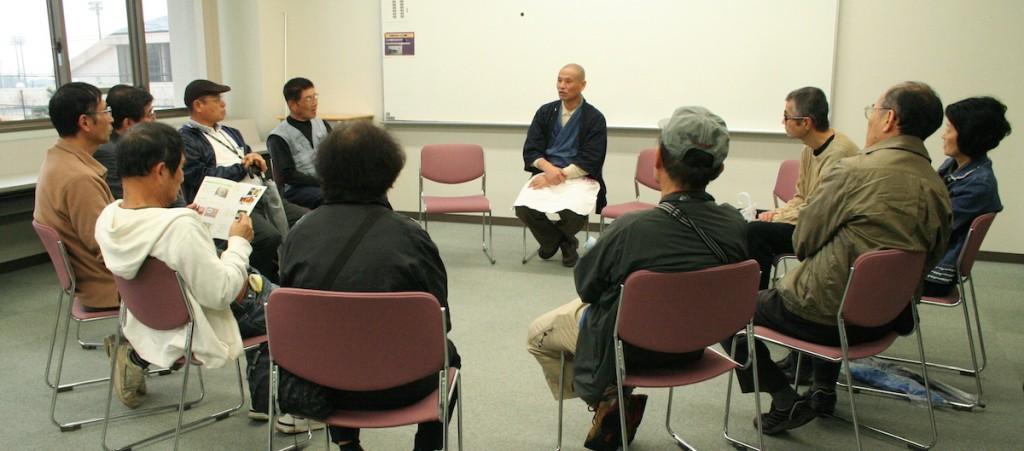 箱崎名人によるそば打ち名人談話 (2014年11月9日-第5回いなべの里新そば祭り)