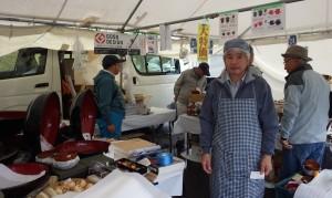 中村豊蔵商店-豊富なそば打ち道具 (2014年11月9日-第5回いなべの里新そば祭り)
