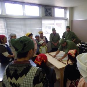 そば打ち体験教室 (2014年12月21日)