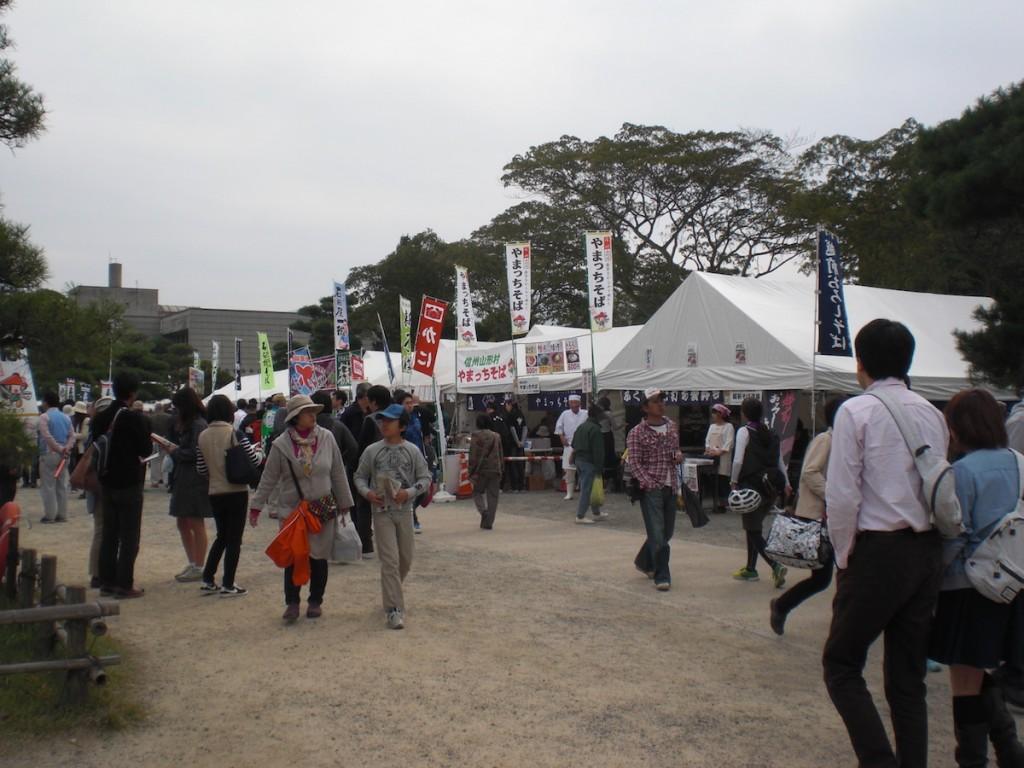 第12回信州・松本そば祭り 2015年10月12日